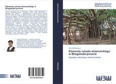 Bookcover of Elementy rytuału wisznuickiego w Bhagawata-puranie