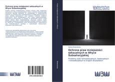 Bookcover of Ochrona praw mniejszości seksualnych w Afryce Subsaharyjskiej