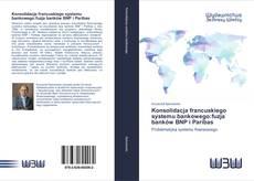 Bookcover of Konsolidacja francuskiego systemu bankowego:fuzja banków BNP i Paribas