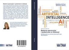 Bookcover of Badania operacyjne i systemowe w edukacji