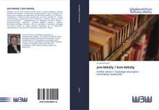 Bookcover of pre-teksty i kon-teksty