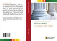 Bookcover of O Tempo do Direito