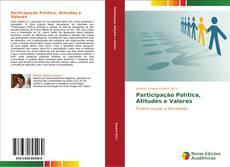 Capa do livro de Participação Política, Atitudes e Valores