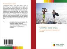Capa do livro de Turismo e baixa renda: