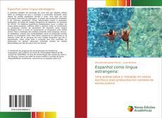 Capa do livro de Espanhol como língua estrangeira: