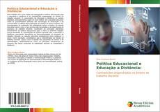 Capa do livro de Política Educacional e Educação a Distância: