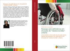 """Capa do livro de Pessoas com deficiência em situação de """"neoescravidão"""" urbana"""
