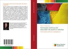 Обложка Formação contínua do educador de jovens e adultos