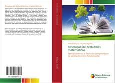 Capa do livro de Resolução de problemas matemáticos