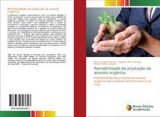 Capa do livro de Rentabilidade da produção de acerola orgânica