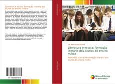 Portada del libro de Literatura e escola: formação literária dos alunos do ensino médio