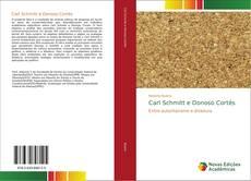 Carl Schmitt e Donoso Cortés kitap kapağı