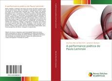 Couverture de A performance poética de Paulo Leminski
