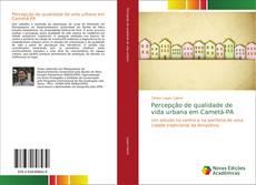 Capa do livro de Percepção de qualidade de vida urbana em Cametá-PA