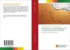 Capa do livro de Resiliência e aprendizagem de multiprofissionais da saúde