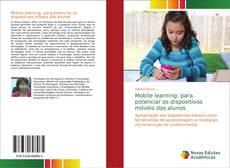 Buchcover von Mobile learning: para potenciar os dispositivos móveis dos alunos