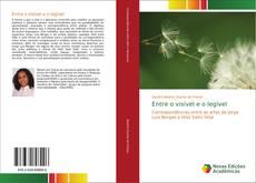 Bookcover of Entre o visível e o legível
