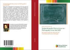 Borítókép a  Subordinação Discursiva no Português à luz da GDF - hoz