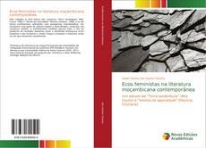 Bookcover of Ecos feministas na literatura moçambicana contemporânea