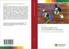 Portada del libro de Transformações nas universidades de pesquisa