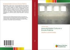 Capa do livro de Acessibilidade Cultural e Escola Pública