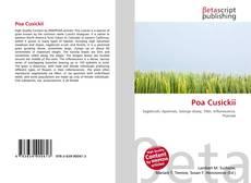 Capa do livro de Poa Cusickii