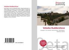 Buchcover von Velzeke Ruddershove