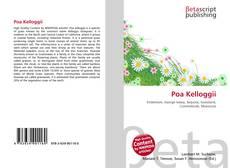 Capa do livro de Poa Kelloggii