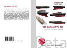 Bookcover of USS Breton (CVE-23)
