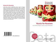 Couverture de Russia for Russians