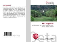 Capa do livro de Poa Napensis