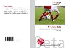 Bookcover of Ofentse Nato
