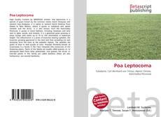 Capa do livro de Poa Leptocoma