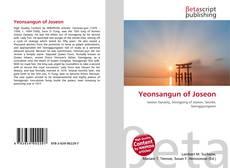 Bookcover of Yeonsangun of Joseon