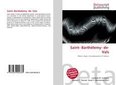 Обложка Saint- Barthélemy- de- Vals