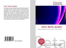 Capa do livro de Saint- Basile, Quebec
