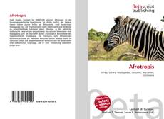 Bookcover of Afrotropis