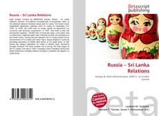 Buchcover von Russia – Sri Lanka Relations