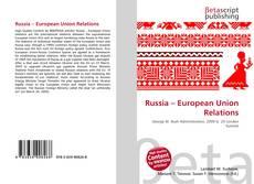 Buchcover von Russia – European Union Relations