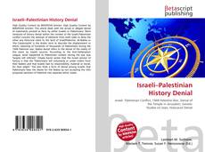 Bookcover of Israeli–Palestinian History Denial