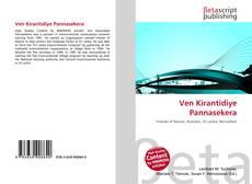 Bookcover of Ven Kirantidiye Pannasekera