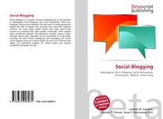 Buchcover von Social Blogging