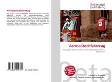 Bookcover of Aerosollöschfahrzeug