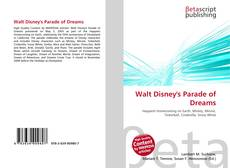 Portada del libro de Walt Disney's Parade of Dreams