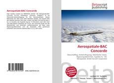 Bookcover of Aerospatiale-BAC Concorde