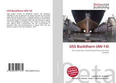 Portada del libro de USS Buckthorn (AN-14)