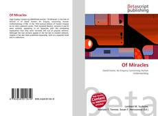 Bookcover of Of Miracles