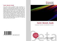 Bookcover of Saint- Benoît, Aude