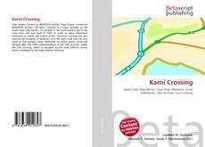 Capa do livro de Karni Crossing