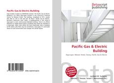 Bookcover of Pacific Gas & Electric Building